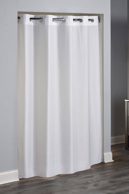Focus Product Group Englewood or Hookless or Polyester or Shower Curtain or Pack of 12