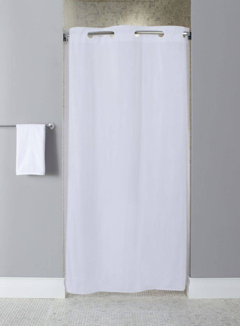 Focus Product Group Hookless Shower Curtain or 10 Guage Vinyl - Stall Size