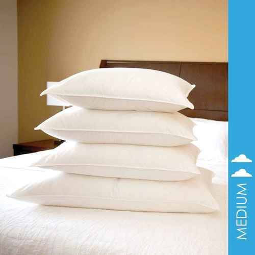 DownLite Bedding DownLite Pillows or Medium Density White Goose Down