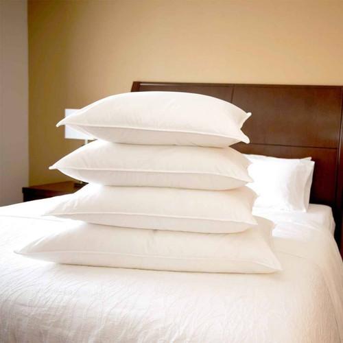 DownLite Bedding DownLite Pillows or Medium Density White Goose Down