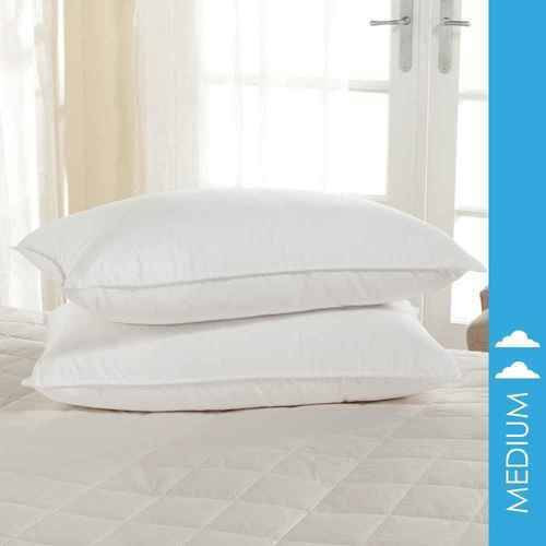 DownLite Bedding Downlite Spira Cluster Puff Medium Density Pillow