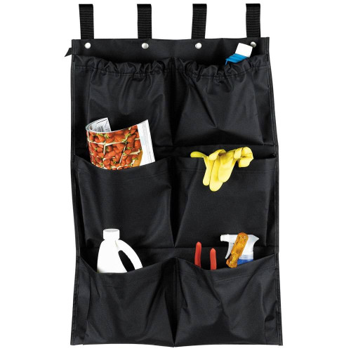 HOSPITALITY 1 SOURCE HOSPITALITY 1 SOURCE or 6 POCKET or X DUTY HOUSEKEEPING or CADDY BAGS or 19x32 or BLACK or 5 PER CASE