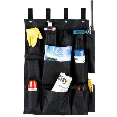 HOSPITALITY 1 SOURCE HOSPITALITY 1 SOURCE or 12 POCKET or X DUTY HOUSEKEEPING or CADDY BAGS or 19x32 or BLACK or 5 PER CASE