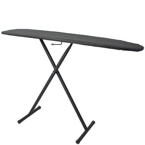 HOSPITALITY 1 SOURCE HOSPITALITY 1 SOURCE or BASIC IRONING BOARD or CHARCOAL COVER or 53LX13W or POWDER COAT BLACK LEGS FINISH or 4 PER CASE