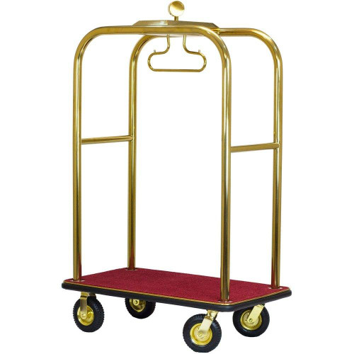 HOSPITALITY 1 SOURCE BELLMANS CART or BOARDWALK BY HOSPITALITY 1 SOURCE