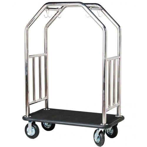 HOSPITALITY 1 SOURCE HOSPITALITY 1 SOURCE or ESTATE SERIES or STAINLESS STEEL or BELLMANS CART