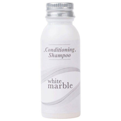 WHITE MARBLE or BRECK CONDITIONING SHAMPOO BOTTLE or 0.75 OZ or 288 PER CASE