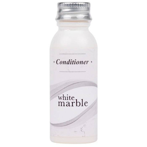 WHITE MARBLE or BRECK CONDITIONER BOTTLE or 0.75 OZ or288 PER CASE