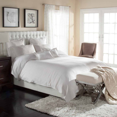 Downlite Duvet Cover with Cotton Pinstripe