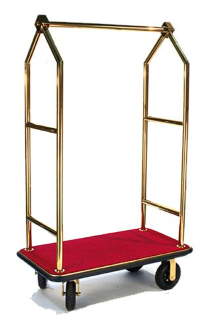 CSL Uptown Series or Heavy Duty Bellman Cart - Angled Top or 1.5 tube
