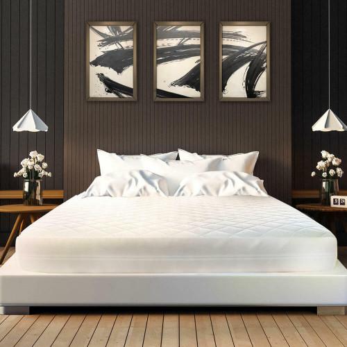 Ganesh Mills or Oxford Super Blend Ganesh Bed Bug Quilted Mattress Encasement w/ Zipper and Velcro