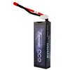 Gens ace 5000mAh 7.4V 50C 2S1P HardCase Lipo Battery Pack 21# with Deans Plug