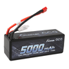 Gens ace 5000mAh 14.8V 50C 4S1P HardCase Lipo Battery14# with Deans Plug