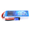 Gens ace 22.2V 60C 6S 3300mAh Lipo Battery Pack with EC5 Plug for Heli