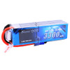 Gens ace 22.2V 60C 6S 3300mAh Lipo Battery Pack with EC5 Plug for RC FPV