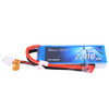 Gens ace 2200mAh 7.4V 45C 2S1P Lipo Battery Pack with Deans Plug for Drag Racing
