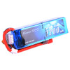 Gens ace 2200mAh 14.8V 45C 4S1P Lipo Battery Pack with Deans Plug for Electric Bike