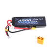 Gens ace 11.1V 50C 3S 4000mAh Lipo Battery Pack with XT60 Plug