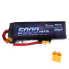 Gens ace 5000mAh 7.4V 50C 2S1P Short-Size Lipo Battery Pack with XT60 Plug