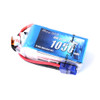 Gens Ace 1050mAh 22.2V 45C 6S1P Lipo Battery Pack with EC3 Plug