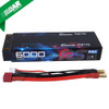Gens Ace 2S 6000mAh HV 7.6V 100C 2S1P HardCase LCG Lipo Battery Pack #49 Racing Series