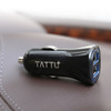 TATTU 24W 2.4A/4.8A Dual Usb Car Charger