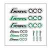 Gensace Sticker Green