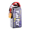 Tattu FunFly 1300mAh 100C 14.8V 4S1P lipo battery pack with XT60 Plug for Practice