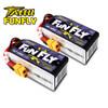 Tattu FunFly 1550mAh 100C 14.8V 4S1P lipo battery pack with XT60 Plug Products Display