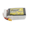 Tattu R-Line 650mAh 22.2V 95C 6S1P Lipo Battery Pack with XT30 Plug