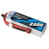 Gens ace 2200mAh 11.1V 60C 3S1P Lipo Battery Pack with EC3 Plug