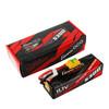 Gens ace 5300mAh 11.1V 60C 3S1P HardCase Lipo Battery 15# with XT90-S(anti-spark) Plug