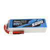 Gens Ace 5000mAh  45C  5S  18.5V Lipo Battery Pack with Deans Plug