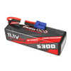 Gens ace 5300mAh 11.1V 60C 3S1P HardCase Lipo Battery 15# with EC5 Plug