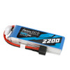 Gens ace 2200mAh 11.1V 3S 11.1V 25C Lipo Battery Pack with 1to3 Plug for RC Plane