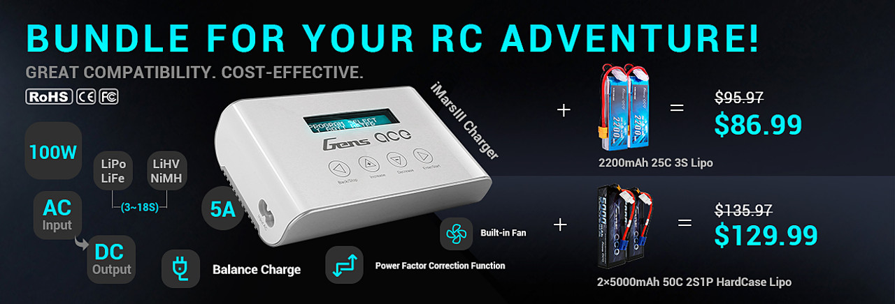 Bundle for your RC adventure