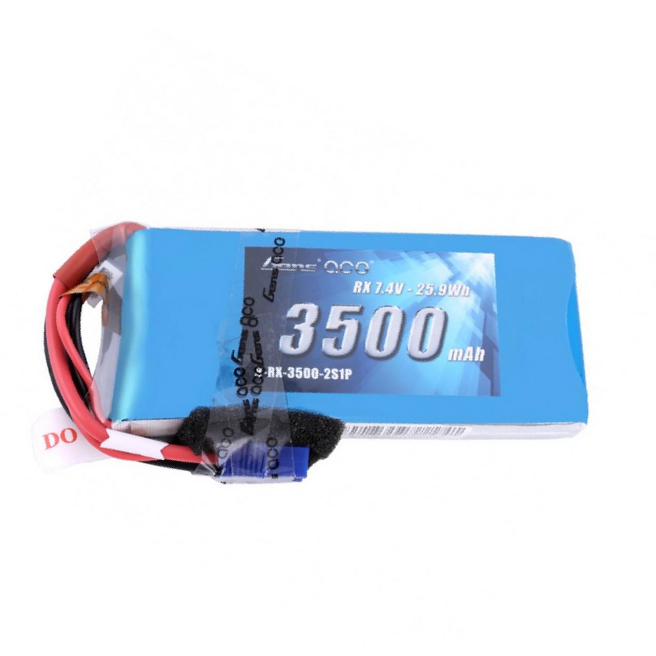 Li-Po 2 S 7.4 V 5000 mAh RX Avec Futaba