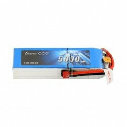 Gens ace 5000mAh 14.8V 45C 4S1P Lipo Battery Pack with Deans Plug for RC Car