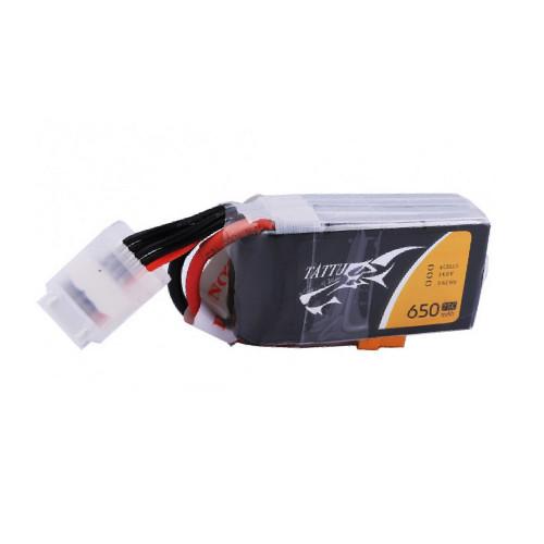 Tattu 650mAh 4S1P 75C 14.8V Lipo Battery with XT30 Plug Product