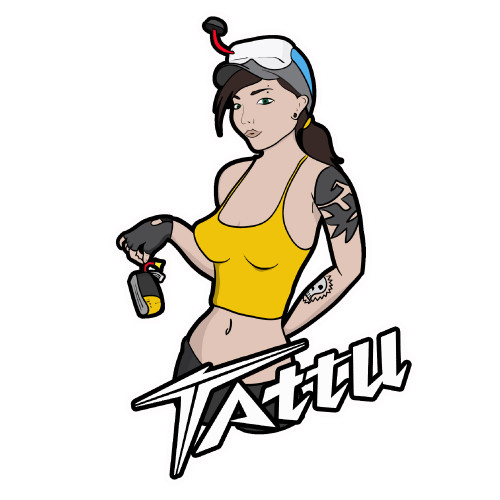 Tattu Sticker