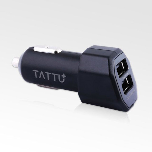TATTU 30W Double Ports Quick Charge 3.0 Car Charger