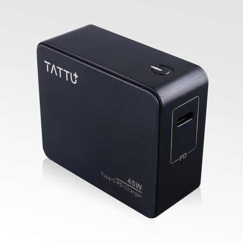Tattu 45W USB Type C  Power Delivery 2.0 Wall Charger for Phone, Macbook and More