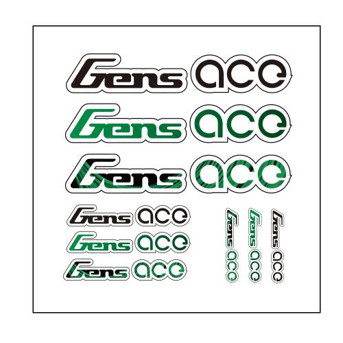 Gensace Sticker Green