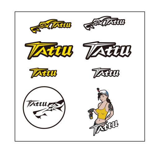 Tattu Sticker Yellow