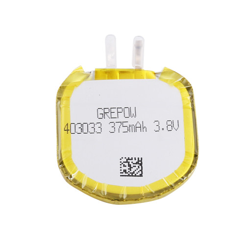 Grepow 3.8V 375mAh LiPo U Type Shaped Battery 4030033