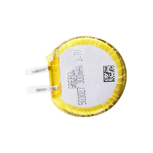 Grepow 3.7V 300mAh LiPo Round Shaped Battery 5030027