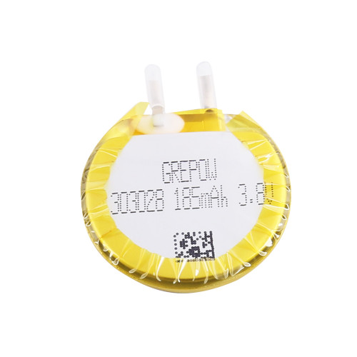 Grepow 3.8V 185mAh 1S LiPo Round Shaped Battery 3030028