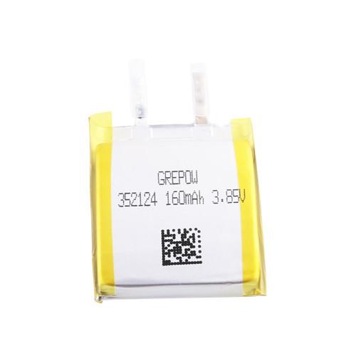 Grepow 3.85V 160mAh LiPo Curve Shaped Battery 3521024