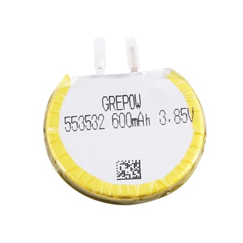 Grepow 3.85V 600mAh LiPo Round Shaped Battery 5535032