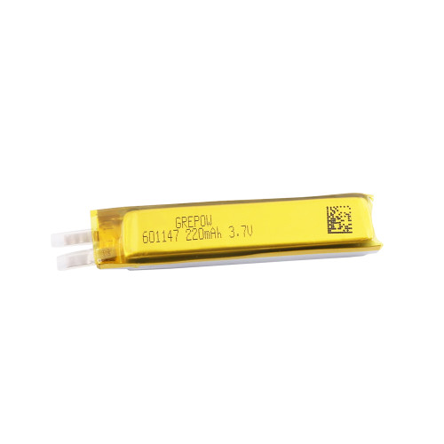 Grepow 3.7V 220mAh LiPo Rectangle Shaped Battery 6011047